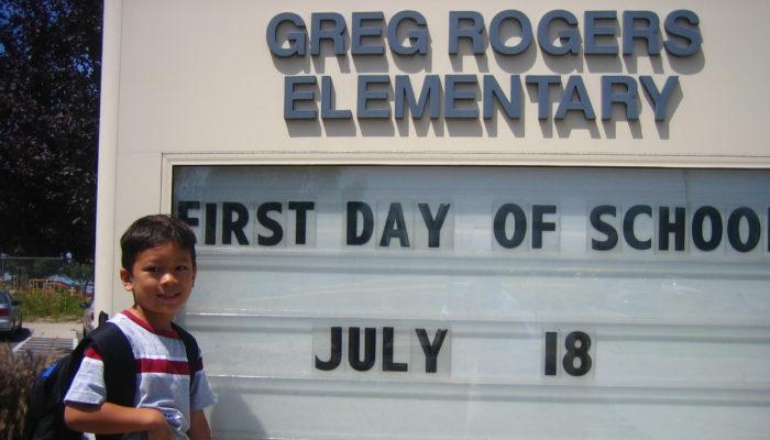 CJ Goes To Kindergarten