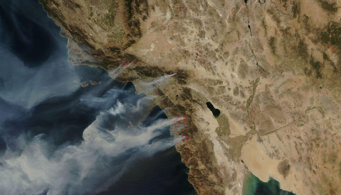 San Diego Fires October 2007